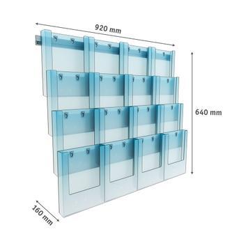 Profilo da parete in policarbonato