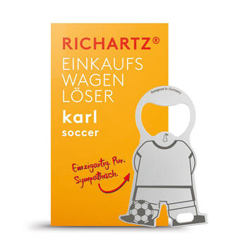 "Richartz® Portsachiavi multifunzione ""Karl Calcio"""