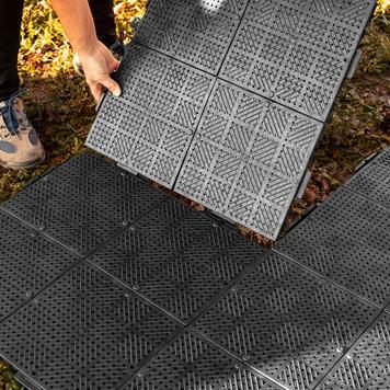 """Pavimento in plastica """"Terraguide©"""" per gazebo promozionali"""
