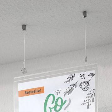 Set di sospensione a soffitto Spiderflex